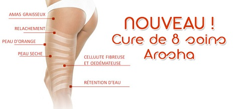 arosha amincissement cellulite