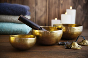 massage bol tibétain et bol chantant