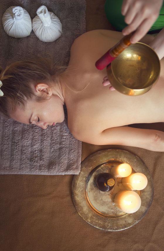 vanity soin massage bol tibétain
